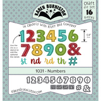 Karen Burniston Die Numbers