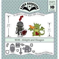 Karen Burniston Die Knight & Dragon