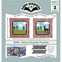 Karen Burniston Die Fancy Flourish Frames