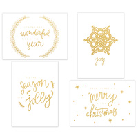 Kaisercraft Kaiserstyle Christmas Card & Envelope Pack Jolly