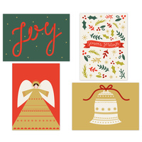 Kaisercraft Kaiserstyle Christmas Card & Envelope Pack Joy