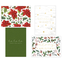 Kaisercraft Kaiserstyle Christmas Card & Envelope Pack Warm Wishes