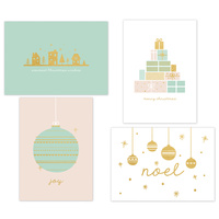 Kaisercraft Kaiserstyle Christmas Card & Envelope Pack Christmas Wish