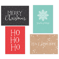 Kaisercraft Kaiserstyle Christmas Card & Envelope Pack Ho Ho Ho