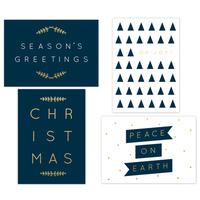 Kaisercraft Kaiserstyle Christmas Card & Envelope Pack Season's Greetings