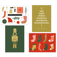 Kaisercraft Kaiserstyle Christmas Card & Envelope Pack Stocking