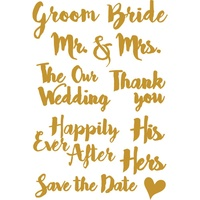 Little B Die Wedding Words