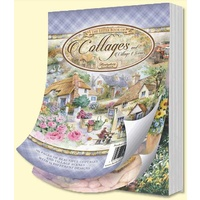 Hunkydory A6 Paper Pad The Little Book of Cottages 144pg
