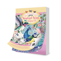 Hunkydory A6 Paper Pad The Little Book of Wonderful Wings 144pg