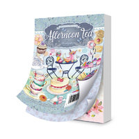 Hunkydory A6 Paper Pad The Little Book of Afternoon Tea 144pg