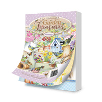 Hunkydory A6 Paper Pad The Little Book of Garden Treasures 144pg