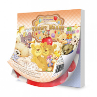 "Hunkydory 5x5"" Paper Pad The Square Little Book of Teddy Beards 150pg"