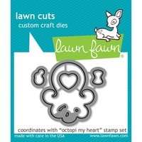 Lawn Fawn Die Octopi My Heart