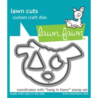 Lawn Fawn Die Hang in There