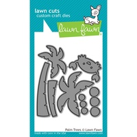 Lawn Fawn Die Palm Trees