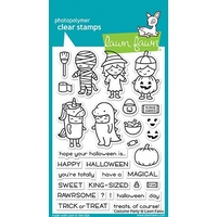 Lawn Fawn Clear Stamp Costume Party