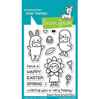 Lawn Fawn Clear Stamp Easter Party