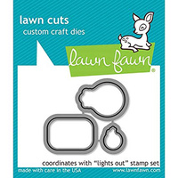 Lawn Fawn Lawn Cuts Die Lights Out