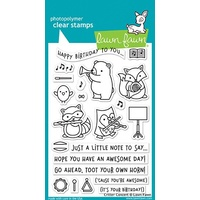 Lawn Fawn Clear Stamp Critter Concert