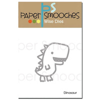 Paper Smooches Die Dinosaur