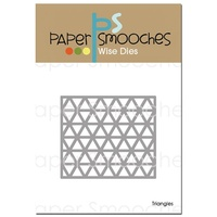 Paper Smooches Die Triangles