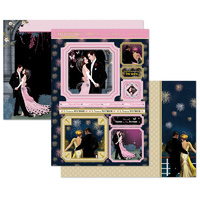 Hunkydory Deco Dreams Mirri Magic Topper Set Sparkle with Love