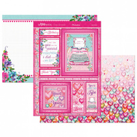 Hunkydory A4 Topper Set Mirri Magic Love Letters