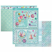 Hunkydory A4 Topper Set Mirri Magic Onwards & Upwards