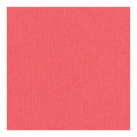 "Bazzill Mono Cardstock 12x12"" Canvas Texture Roselle"