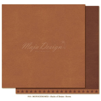 "Maja Design Denim & Friends Shades of Monochrome 12x12"" Cardstock Brown"