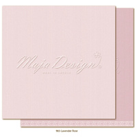 "Maja Design Celebration Shades of Monochrome 2x12"" Cardstock Lavender Rose"