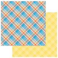 "PhotoPlay Paper Mad 4 Plaid 12x12"" Paper Plaid"