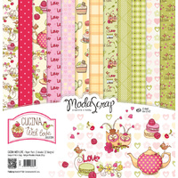 "Elizabeth Craft Designs 12x12"" Paper Pack Cucina With Love by Modascrap"