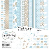 "Elizabeth Craft Designs 12x12"" Paper Pack My Little Boy by Modascrap"