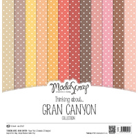 "Elizabeth Craft Designs 12x12"" Paper Pack Thinking About Grand Canyon by Modascrap"