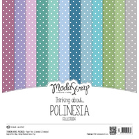 "Elizabeth Craft Designs 12x12"" Paper Pack Thinking About Polinesia by Modascrap"