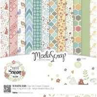 "Elizabeth Craft Designs 12x12"" Paper Pack Beautiful Season 12pk by Modascrap"