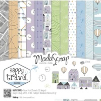"Elizabeth Craft Designs 6x6"" Paper Pack Happy Travel 12pk by Modascrap"