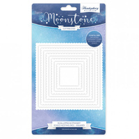 Hunkydory Moonstone Die Scalloped & Straight Edged Nesting Rectangles