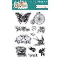 PhotoPlay Paper Moments in Time Photopolymer Stamp Set