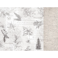 "Kaisercraft Christmas Edition 12x12"" Double Sided Scrapbook Paper Jovial"