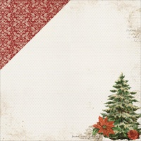 "Kaisercraft Letters to Santa 12x12"" Double Sided Scrapbook Paper Christmas Traditions"