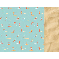 "Kaisercraft Summer Splash 12x12"" Scrapbook Paper Surfers"
