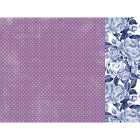 "Kaisercraft Misty Mountains 12x12"" Scrapbook Paper Dusty Plum"