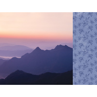 "Kaisercraft Misty Mountains 12x12"" Scrapbook Paper Sunset"