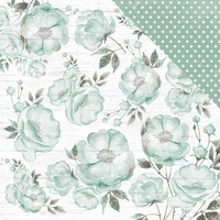 "Kaisercraft Memory Lane 12x12"" Scrapbook Paper Misty Rose"