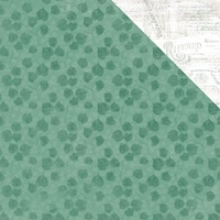 "Kaisercraft Memory Lane 12x12"" Scrapbook Paper Jade Jewel"