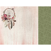 "Kaisercraft Gypsy Rose 12x12"" Scrapbook Paper Free Spirit"