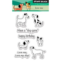 Penny Black Clear Stamp Love Me!