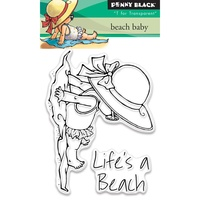 Penny Black Clear Stamp Beach Baby